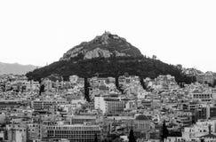 De stad van Athene Royalty-vrije Stock Fotografie