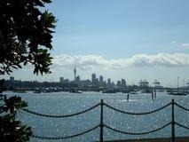 De Stad van Auckland. Stock Foto