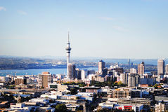 De stad van Auckland stock fotografie