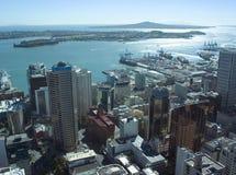 De Stad van Auckland Stock Afbeelding