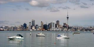De stad van Auckland, Nieuw Zeeland royalty-vrije stock afbeelding