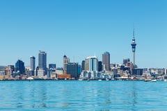 De stad van Auckland, Nieuw Zeeland Royalty-vrije Stock Foto's