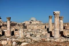 De stad van Azië Jordanië Amman stock afbeeldingen