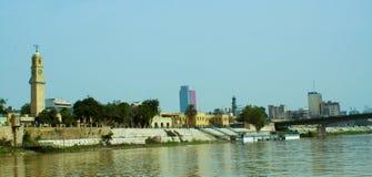 De stad van Bagdad stock foto