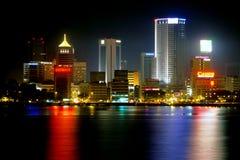 De Stad van Bahru van Johor Stock Afbeelding