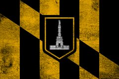 De stad van Baltimore vector illustratie