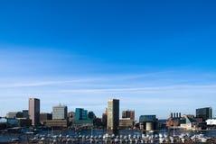 De stad van Baltimore Stock Afbeelding