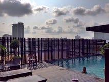 De stad van Bangkok Royalty-vrije Stock Afbeeldingen