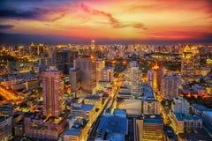 De stad van Bangkok Royalty-vrije Stock Foto's