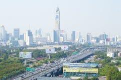 De stad van Bangkok Stock Afbeelding