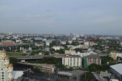 De stad van Bangkok stock fotografie