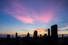 De Stad van Bangkok - Cityscape Thailand stock afbeelding