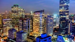 De Stad van Bangkok - Cityscape Thailand royalty-vrije stock fotografie