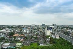 De stad van Bangkok scape Royalty-vrije Stock Fotografie