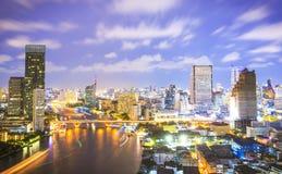 De stad van Bangkok, Thailand Stock Fotografie