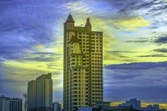 De Stad van Bangkok, Thailand, 06 Juni 2017 De Stad van Bangkok heeft stad van Stock Foto's