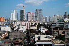 De stad van Bangkok van Thailand Stock Afbeelding