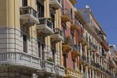 De stad van Bari Stock Afbeelding