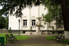 De stad van Batumi Stock Foto