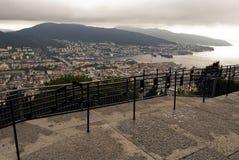 De stad van Begen, Noorwegen Stock Foto