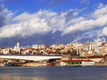 De stad van Belgrado Royalty-vrije Stock Foto