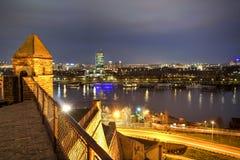 De stad van Belgrado, Servië Stock Afbeelding