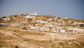 De stad van Berber van Matmata stock foto's