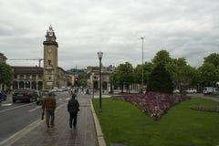 De stad van Bergamo, Itali? royalty-vrije stock afbeeldingen