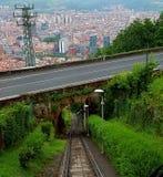De stad van Bilbao Stock Foto