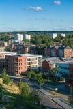 De stad van Birmingham, het UK stock foto's