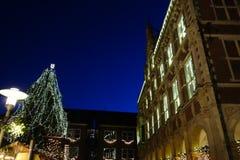 De stad van Bocholt Stock Afbeelding