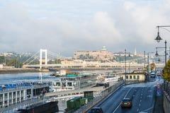 De stad van Boedapest Stock Foto's