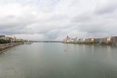 De stad van Boedapest Stock Afbeelding