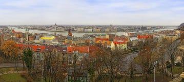 De stad van Boedapest, Hongarije Stock Fotografie
