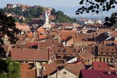 De stad van Brasov Royalty-vrije Stock Afbeeldingen