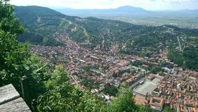 De stad van Brasov Royalty-vrije Stock Fotografie