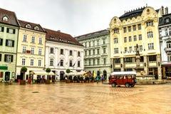De stad van Bratislava, Slowakije Royalty-vrije Stock Afbeelding
