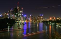 De Stad van Brisbane Royalty-vrije Stock Afbeeldingen