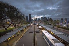 De stad van Brisbane Royalty-vrije Stock Foto's