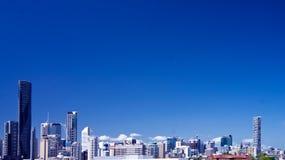 De stad van Brisbane Stock Fotografie