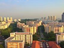 De stad van Bukitbatok, Singapore royalty-vrije stock foto