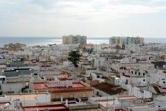 De stad van Cadiz stock foto's