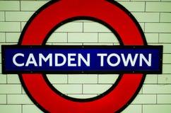 De stad van Camden Stock Foto