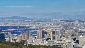 De Stad van Cape Town Stock Afbeelding