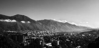 De stad van Caracas Stock Afbeelding