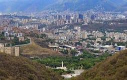 De stad van Caracas Hoofdstad van Venezuela royalty-vrije stock foto's