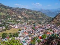 De stad van Chamba - India Stock Afbeeldingen