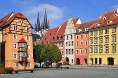 De stad van Cheb, Tsjechische Republiek royalty-vrije stock afbeeldingen