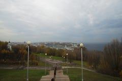 De Stad van Cheboksary Royalty-vrije Stock Afbeeldingen