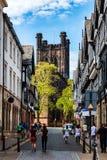 De stad van Chester, Engeland royalty-vrije stock fotografie